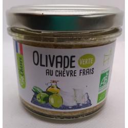 TARTINABLE CHEVRE FRAI OLIVE VERTE 90G
