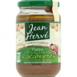 PUREE DE CACAHUÈTES 350GRS