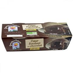 COEUR FONDANT CHOCOLAT 2X90G