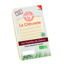 TRANCHES DE CHEVRE (6) 120G 26% MG CC