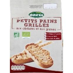 PETIT PAIN GRILLÉ CÉRÉALES GRAINES 225 GRS