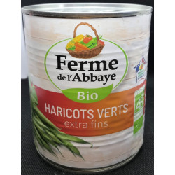 HARICOTS VERTS EXTRA-FINS 440GRS