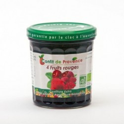 CONFITURE DE 4 FRUITS ROUGES 370G