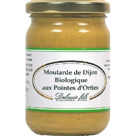 MOUTARDE FORTE ORTIES 200G