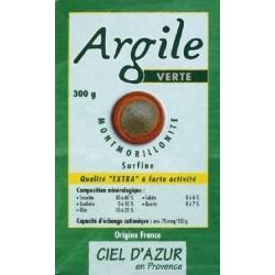 ARGILE VERTE MONTMORILLONIT SURFINE 300G