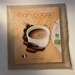 FLAN CHOCOLAT SANS SUCRE 14G