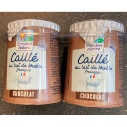 CAILLE LAIT BREBIS CHOCOLAT 2X125G CC