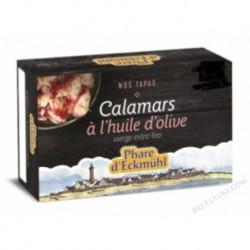CALAMARS À L'HUILE D'OLIVE 111 GRS
