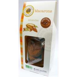 MACARONS MOËLLEUX AMANDES CHOCOLAT 140G