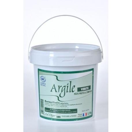 ARGILE VERTE MONTMORILLONITE PÂTE 1,2KG
