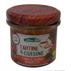 TARTINE CUISINE TOMATE ROQUETTE 135 GRS