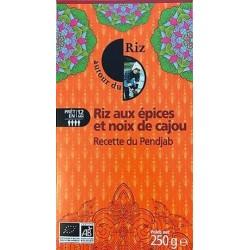 RIZ BASMATI ÉPICES NOIX DE CAJOU 250G