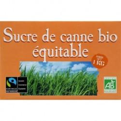 SUCRE DE CANNE ROUX MORCEAUX 1KG