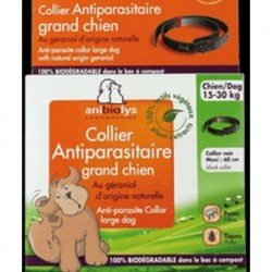 ANTIPARASITE GRAND CHIEN COLLIER
