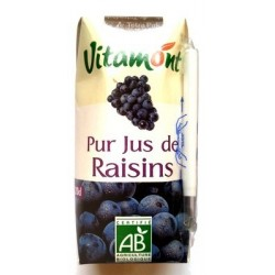 JUS DE RAISIN ROUGE TÉTRA 20CL