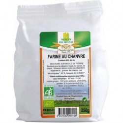 FARINE AU CHANVRE 250GR