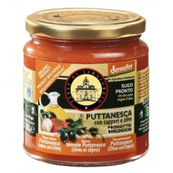 SAUCE TOMATE PUTTANESCA 300G