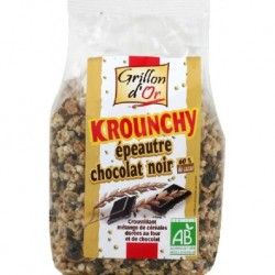CRUNCHY EPEAUTRE CHOCOLAT NOIR 500G