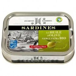 SARDINES HUILE OLIVE 115G