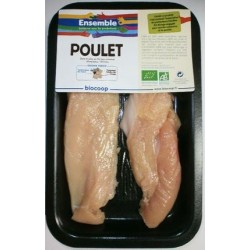ESCALOPE DE POULET (2) SOUS AT ENV.150G (P)