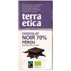 CHOCOLAT NOIR PÉROU 70% 100GRS