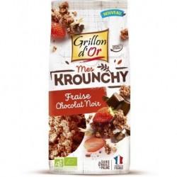 KROUNCHY FRAISE CHOCOLAT 500G