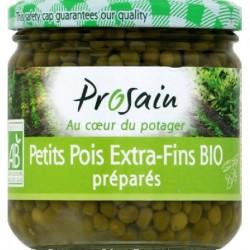 PETITS POIS EXTRA-FINS PREPARES 240G