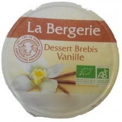 DESSERT VANILLE BREBIS 125GRS