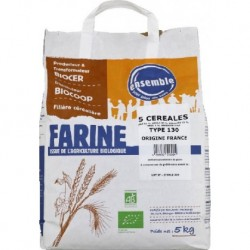 FARINE 5 CEREALES T130 5KG
