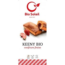 MINI CAKE FOURRE FRAISE KEENY (5) 150G