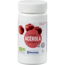 ACEROLA FRUITS ROUGES COMPRIMES 30X2.2G