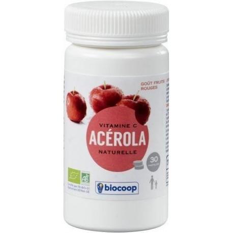 ACEROLA FRUITS ROUGES COMPRIMES 30X2.2G