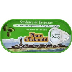 SARDINES À L' HUILE OLIVE 3 X 55 GRS