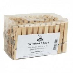 50 PINCES A LINGE