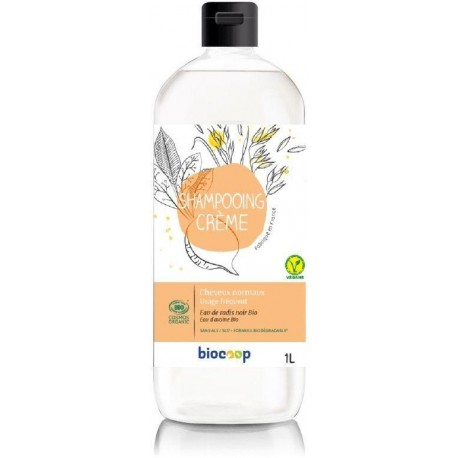 SHAMPOOING CREME CHEVEUX NORMAUX 1L