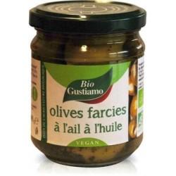 OLIVE VERTE FARCIE AIL À L'HUILE 190G