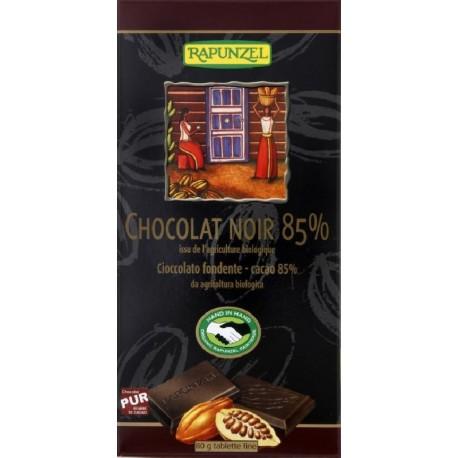 CHOCOLAT NOIR 85% 80GRS