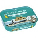 ANCHOIS ENTIERS HUILE OLIVE 87G