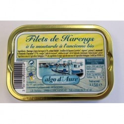 HARENG FILET MOUTARDE ANCIENNE 115G
