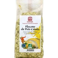 FLOCONS DE POIS CASSES 350G