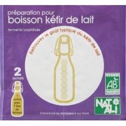 PRÉPARATION POUR BOISSON KÉFIR 2X6G CC