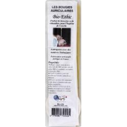 BOUGIES D'OREILLE DROITES X2