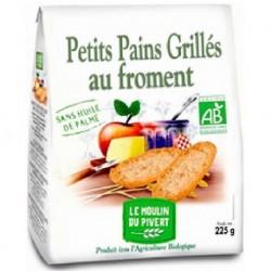 PETIT PAIN GRILLÉ AU FROMENT 225GRS