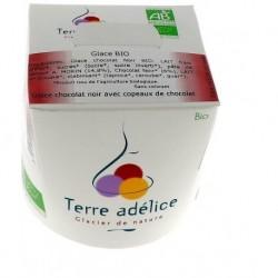 GLACE CHOCOLAT NOIR AVEC COPEAUX 500ML