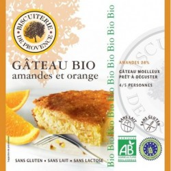 GATEAU AMANDE ORANGE 225 GRS