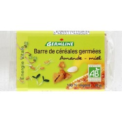 BARRE CEREALES GERMEES AMANDE 40G