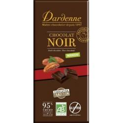 CHOCOLAT NOIR 95% 90 GRS