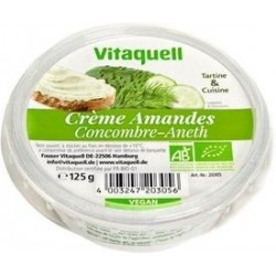 CREME AMANDE CONCOMBRE ANETH 125G CC