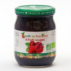 CONFITURE DE 4 FRUITS ROUGES 650G