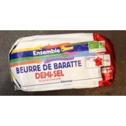 BEURRE DEMI SEL DE BARATTE 500GRS